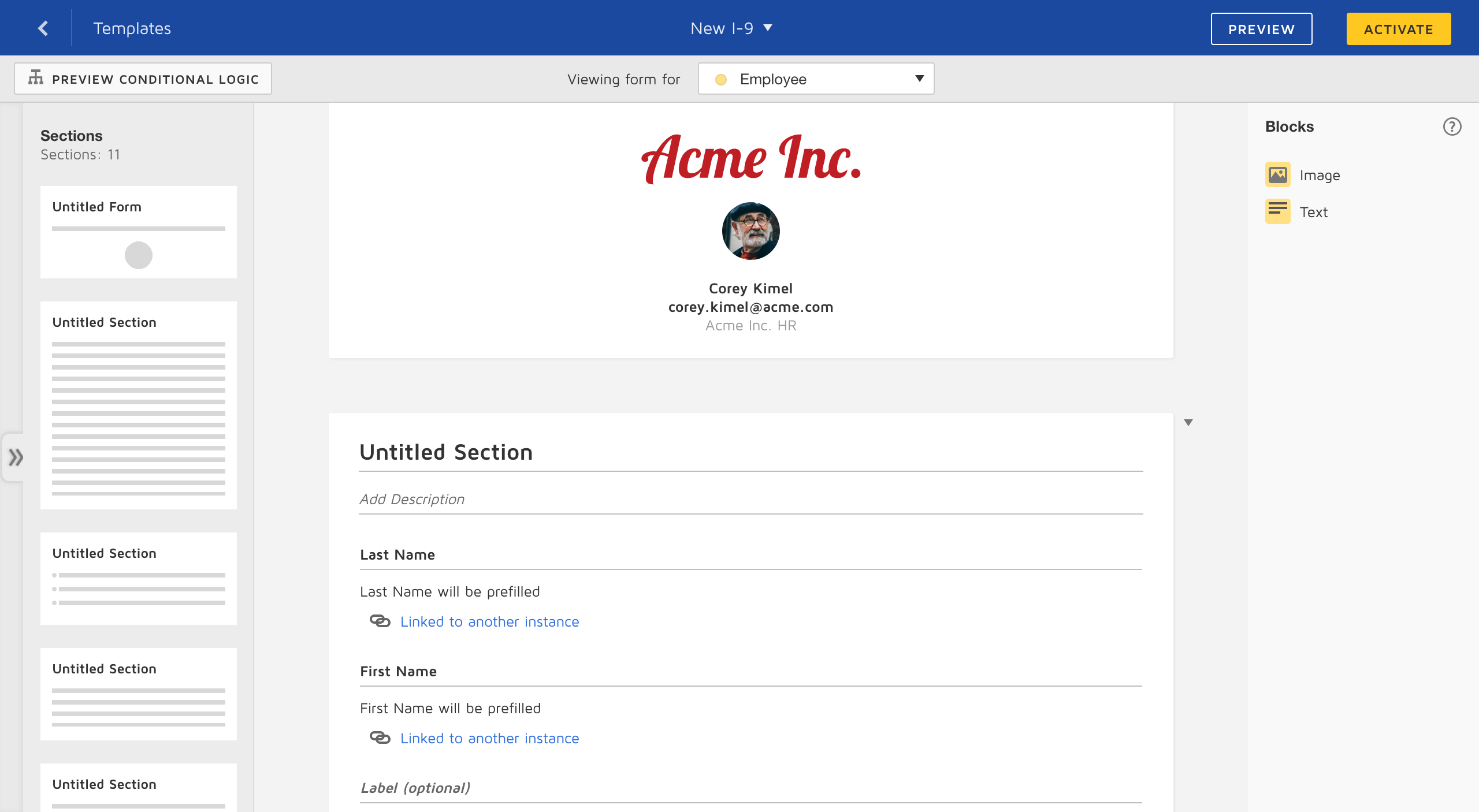 DocuSign: Forms