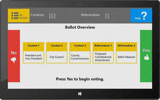 EZ Ballot: Universal Design Voting Application